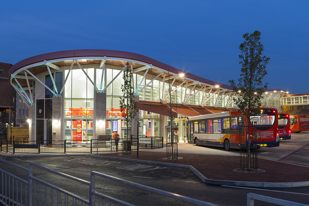 Mansfield Bus Station