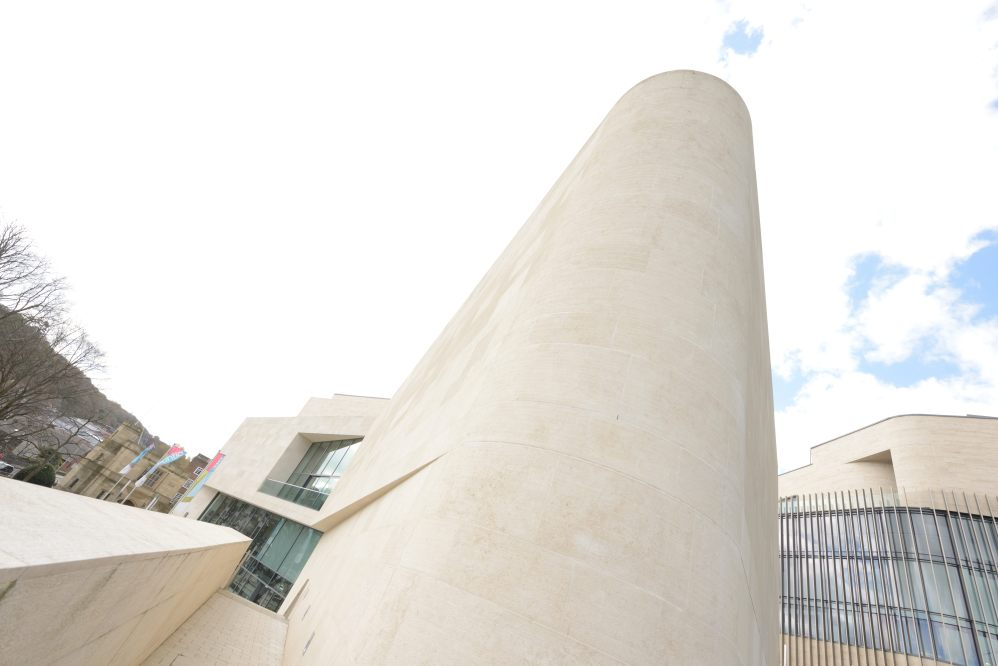 Pontio Building External Elevation 4