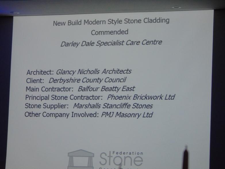 Stone Federation Awards